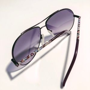 Emilio Pucci Aviator Sunglasses